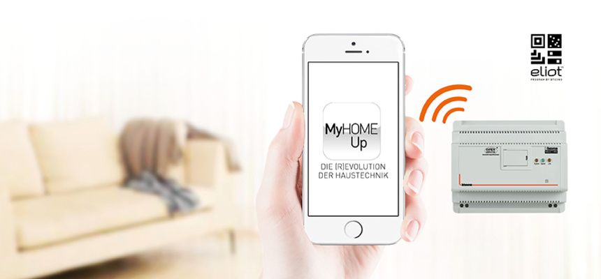 MyHOME / MyHOME_Up bei Elektro Hess GmbH & Co. KG in Sachsen bei Ansbach